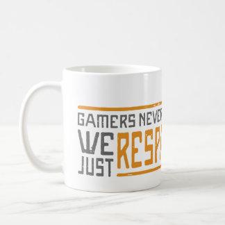 Gamers Never Die - Style 1 Coffee Mug