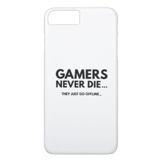 Gamers Never Die... They Just Go Offline iPhone 7 Plus Case