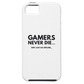 Gamers Never Die... They Just Go Offline iPhone SE/5/5s Case