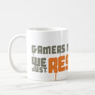 Gamers Never Die We Just Respawn Coffee Mug