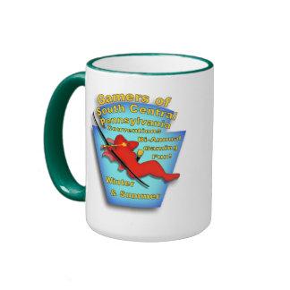Gamers of Winter and Summer Ringer Mug