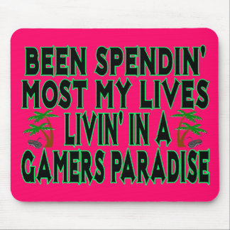 Gamers Paradise Mouse Pad