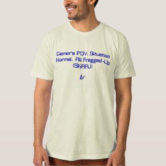 Gamers POV: SNAFU Tee Shirt