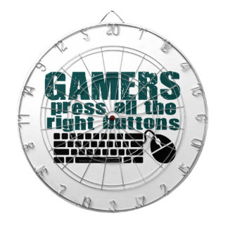 Gamers Press The Right Buttons Dart Boards