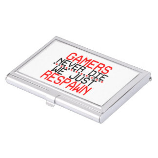 Gamers Respawn Business Card Holder