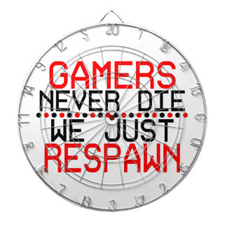 Gamers Respawn Dartboard With Darts