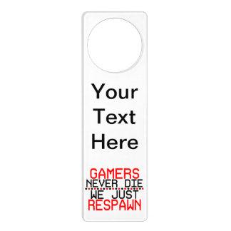 Gamers Respawn Door Hanger