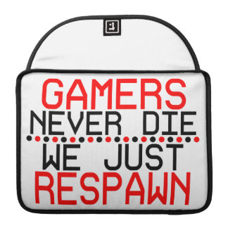 Gamers Respawn Sleeves For MacBook Pro