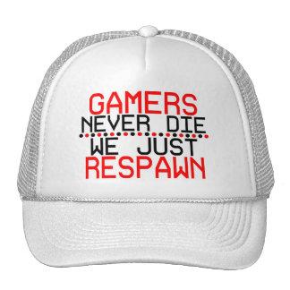 Gamers Respawn Trucker Hat