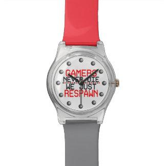 Gamers Respawn Wristwatches