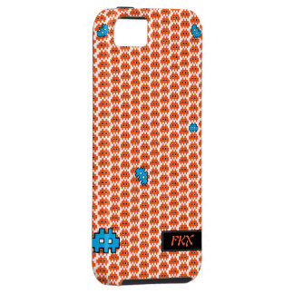Gamers retro Arcade 5 case for iPhone5 orange iPhone 5 Cases