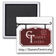 Gamer's Tavern Logo Magnet