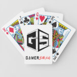 GamerSwag logo cards Playing Cards