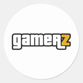 Gamerz Shirt Classic Round Sticker