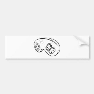 Games Controller Bumper Sticker