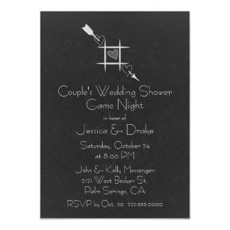 Games Couple's Wedding Shower Invitation