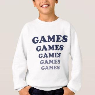 Games Games Games Games Games Sweatshirt
