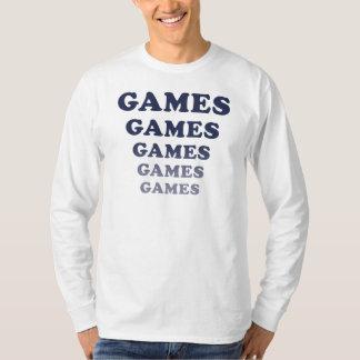 Games Games Games Games Games Tee Shirt