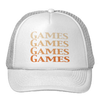 Games Games Games Games Gifts Trucker Hats