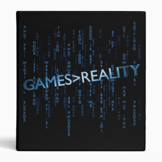 Games Greater Than Reality Binder