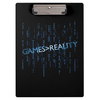 Games Greater Than Reality Clipboard