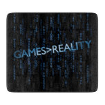 Games Greater Than Reality Cutting Boards
