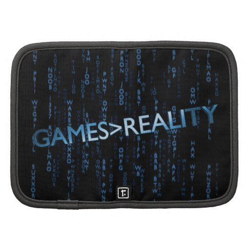 Games Greater Than Reality Folio Planners