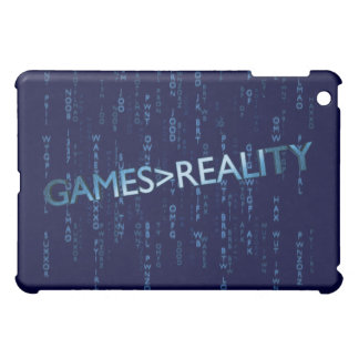 Games Greater Than Reality iPad Mini Cover