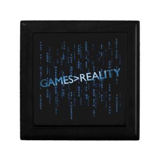 Games Greater Than Reality Keepsake Box