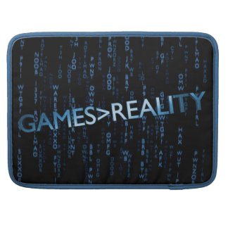 Games Greater Than Reality Sleeves For MacBook Pro