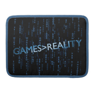 Games Greater Than Reality Sleeve For MacBook Pro