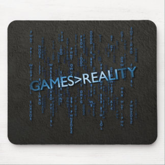 Games Greater Than Reality Mouse Pad
