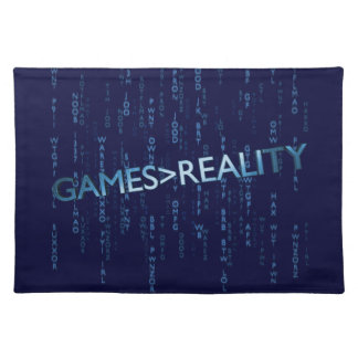 Games Greater Than Reality Placemat