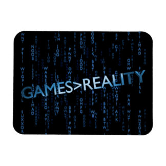 Games Greater Than Reality Rectangular Photo Magnet