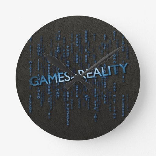 Games Greater Than Reality Round Clocks