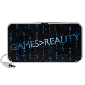 Games Greater Than Reality Travelling Speakers