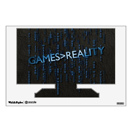 Games Greater Than Reality Wall Decal