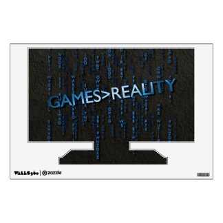 Games Greater Than Reality Wall Graphic
