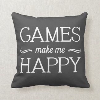 Games Happy Pillow - Assorted Styles & Colors