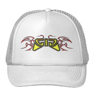Games In Gear - Tribal Design Red and Yellow Trucker Hat