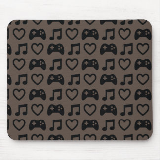 Games Music Love 1 Mouse Pad