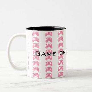 Games on! Gamergirl Two-Tone Coffee Mug