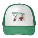 Games Reindeer Play Mesh Hats