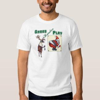 Games Reindeer Play T-Shirt
