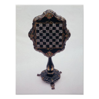 Games table, c.1850-60 poster