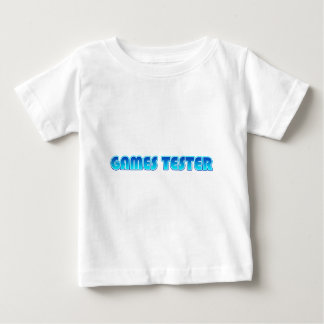 Games Tester Baby T-Shirt