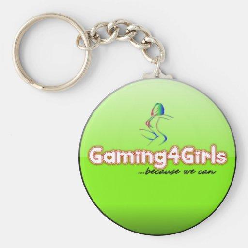 Gaming4Girls Keychains