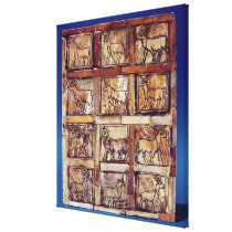 Gaming board, animals of the field and forest canvas print