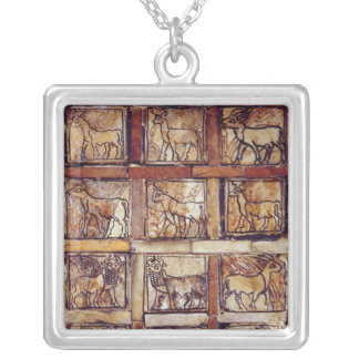 Gaming board animals of the field and forest pendants