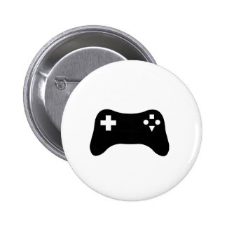 Gaming Console Pinback Button